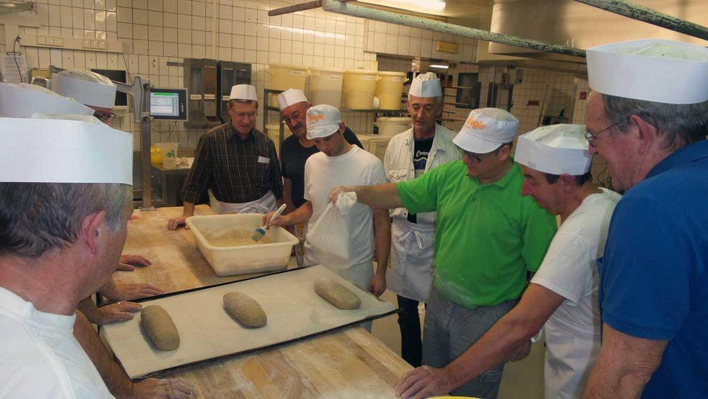 Männerbacken Bäckerei Begle