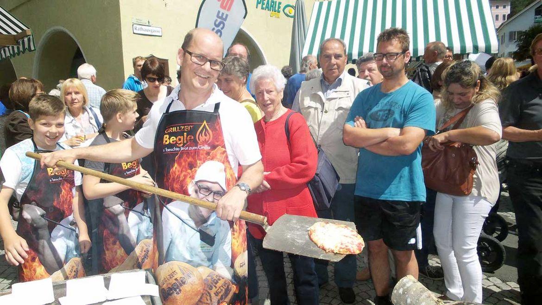Bäckerei Begle am Brot- und Strudelmarkt