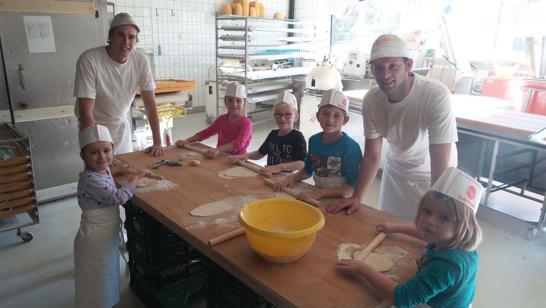 Kindergeburtstag in der Bäckerei Begle
