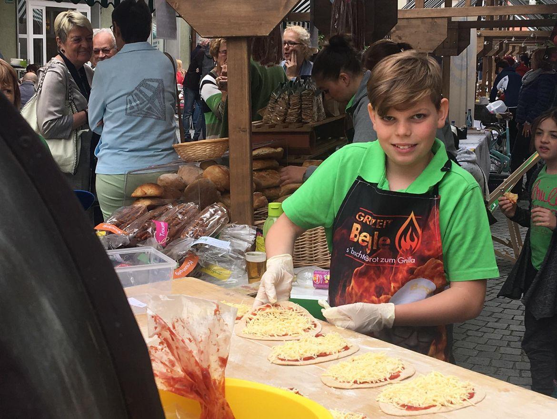 Bäckerei Begle beim Brot- und Strudelmarkt 2017