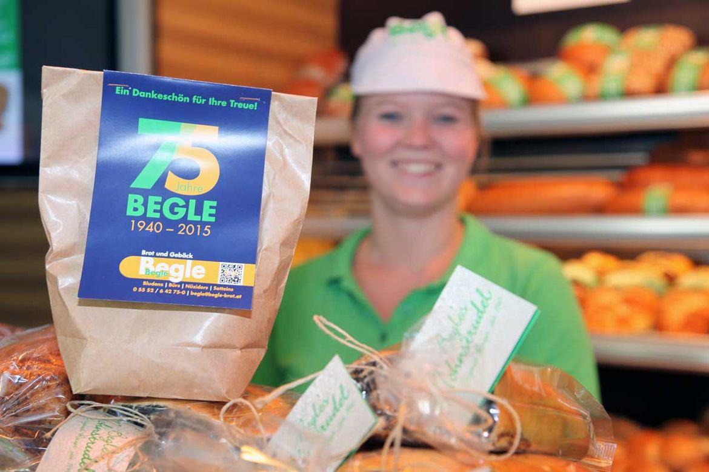 75 Jahre Bäckerei Begle