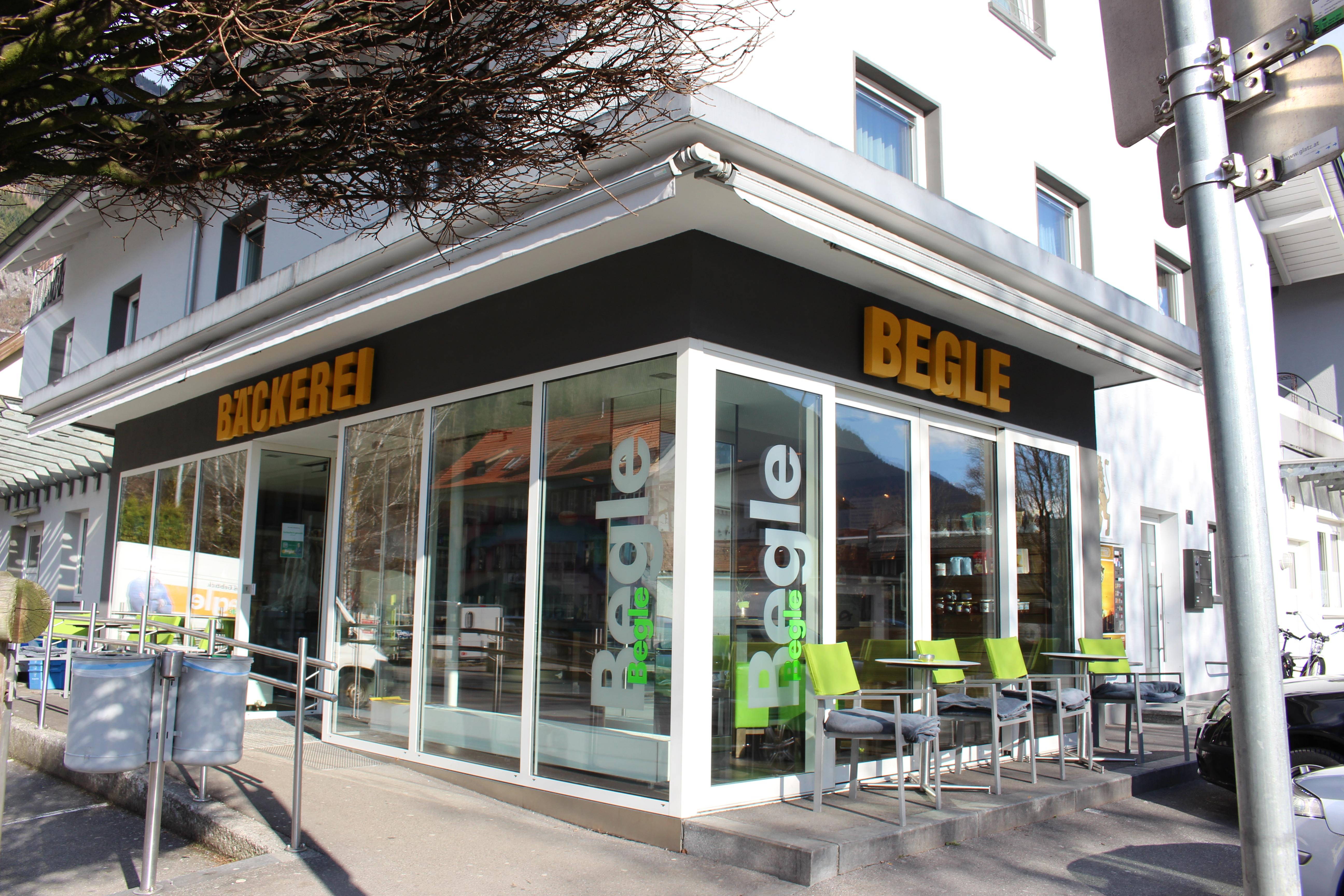 Bäckerei Begle Hauptgeschäft Bludenz